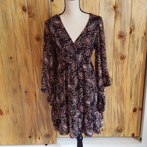 Betsey Johnson adorable paisley dress